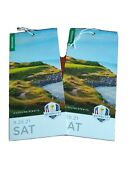 Ryder Cup Tickets Grounds 2021 Saturday 450 For Both