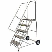 Ballymore Rolling Ladder Overall Height 83 In Steps 5 Cap 300 Lb