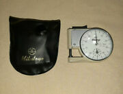 Mitutoyo Pocket Thickness Gage Gauge No 7309 .01-9mm With Case
