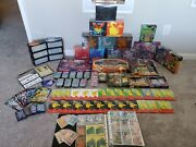 Large Lot Pokemon Product. Sealed And Unsealed Cards. Mint To Near Mint.