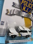 Greenlight 1 64 New Jersey State Police 2021 Ford Police Interceptor Utility