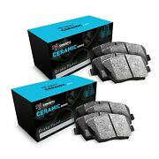 For 1995-2001 Bmw 750il R1 Concepts Front Rear Low Dust Ceramic Brake Pads