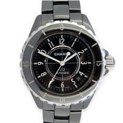 .auth Automatic J12 Ceramic Mid Size 39mm Watch Box And Docs Ref H0685