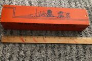Vintage Original Empty 1930s Walthers Steel Reefer Empty Toy Train Display Box