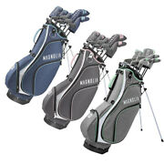 New Lady Wilson Magnolia Complete Golf Set W/ Driver Irons Putter And Stand Bag