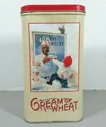 Vintage 1998 Nabisco Cream Of Wheat Tin Can Canister Advertising Collectable Tin