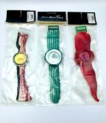 Swatch Watch Vintage - Vegetables Set - Edition Limited 9999 - 1991 Special