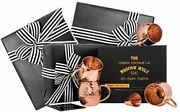 Wrapped Moscow Mule Copper Mugs Set Of 4, 100 Solid Gift Wrapped Unlined Set