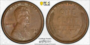 1909 S Vdb 1c Lincoln Wheat Cent Pcgs Au 55 About Uncirculated Cac Approved C...
