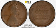 1909 S Vdb 1c Lincoln Wheat Cent Pcgs F 15 Fine To Very Fine Cac Approved Cer...