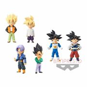 Dragonball Z Wcf World Collectable Extra Costume Figure Toy Doll Goku Vegeta