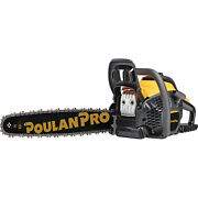 Poulan Pro Chainsaw - 20in. Bar 50cc 3/8in. Pitch Model Pr5020