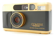 Mint Contax T2 60 Years Anniversary Edition Gold Pointandshoot 35mm Film Camera