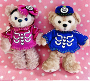 Duffy And Sherry May Plush Badge Halloween Skeleton Version With Tags D781