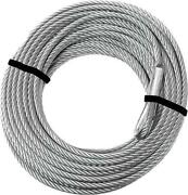 Kfi Replacement Stainless Steel Cable 15/64 X 52and039 For 4500-5000 Series Winches