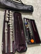 Piccolo Flute Case Wooden Silver And Plated Key Yamaha Wood Instrument Yfl-311ii