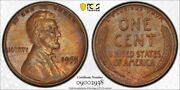 1955 Double Die Obverse Lincoln Cent Pcgs Au 53 1955/1955 Ddo Toned Nice