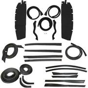 Body Weatherstrip Kit Compatible With 1949-1952 Chevrolet Oldsmobile Convertible