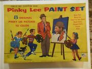 Vintage 1955 Pinky Lee Paint Set In Box - Never Used
