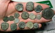 Awesome Lot 16 Dated Pirate Treasure Cobs Spanish Maravedis Colonial Old Coins