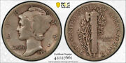 1916 D 10c Mercury Dime Ngc Vg 8 Very Good Denver Mint Key Date Cac Approved ...