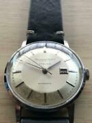 1960and039s Schaffhausen Turler W Name Cal.8531 Old Inter Vintage Menand039s Watch