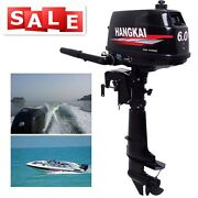 Hangkai 6hp 2stroke Outboard Motor Boat Fishing Complete Engine Cdi Water Cooled