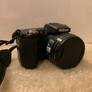 Nikon Coolpix L110 12.1mp Digital Camera - Black Used But In Great Condition