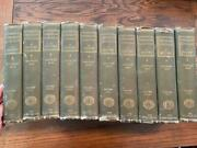 Abraham Lincoln A History Nicolay/hay10 Volume Set The Century Co. 1914