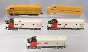 Lionel Ho Vintage New Haven And Union Pacific Diesel Locomotives And Shell [5]