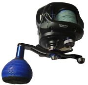 Daiwa Lexa-win 400 Hsl-p. Left Handed. Never Used In Saltwater.