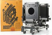 [rare Almost Mint In Box] Bossy Studio 45 Large Format View Camera Japan 1814