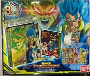 Super Dragon Ball Heroes Official 9 Pocket Sdbh 8th Anniversary Binder Ultimatez