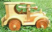 Wooden Vintage Car Toy Cars Lot Vintage And Toys Natural Beech Wood...