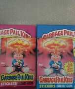 Gpk 1st And 2nd Series Empty Boxes