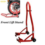 Motorcycle Stand Front Wheel Lift Fork Swingarm Stand Forklift Stand Bikes Atvs