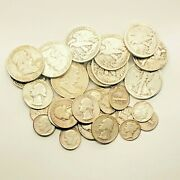 90 Silver Us Coins Mix 1 Troy Oz 1.25 Face Value Not All Junk Limited Supplyandnbsp