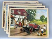 New Vtg Simplex Nostalgic Wooden Puzzles Set Of 6 For Ages 3+ Sealed