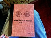 Jefferson Nickel Top Shelf Library Of Coins Album With Key Date 1950-d + Others