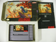 Ys Iii Wanderers From Ys Super Nintendo Authentic Tested See Pics