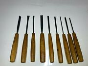 Pfeil Swiss Made 9 Pc Wood Carving Tools Chisels Gouges