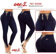 Ene 2,jeans Colombianos,authentic Colombian Push Up Jeans,levanta Cola