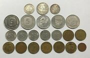 West Germany - Total Of 17 Coins Plus 3 Silver Coins From German Empire