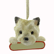 Personalized Ornaments Cairn Terrier Polyrsin Christmas Puppy Dog 2189