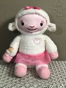 """Disney Doc Mcstuffins Lambie """"take Care Of Me"""" Interactive Doll-talks,lights Up"""