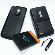 6300mah Extended Battery Dock Charger Cover Pen For Samsung Galaxy S4 Mini S890l