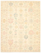Hand-knotted Carpet 9and0392 X 12and0392 Modern Oushak Traditional Wool Rug
