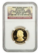 2016-w Betty Ford 10 Ngc Proof 70 Ucam