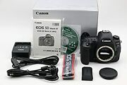 Canon Eos 5d Mark Iv 30.4mp Digital Slr Camera Body W/ Charger
