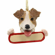 Personalized Ornaments Jack Russell Polyresin Christmas Dog Puppy 21817